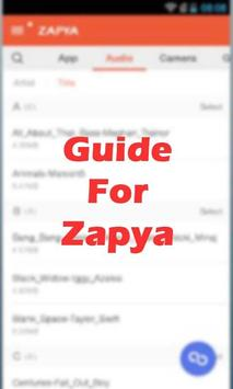 Download Free Zapya File Tranfer Guide 2.0 APK File for Android