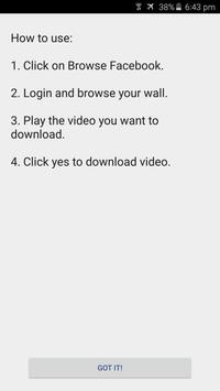 Download Video Downloader for Facebook 3.0.7 APK File for Android