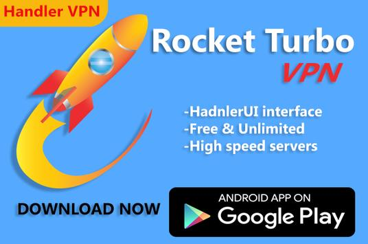 Download Rocket Turbo VPN- Handler VPN 2.4 APK File for Android