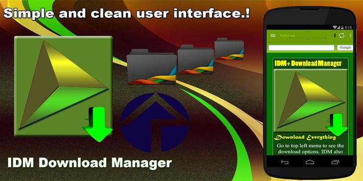 Download IDM Download Manager ★★★★★ 5.30 APK File for Android