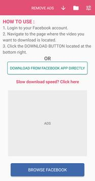 Download HD Video Downloader for Facebook 5.0.44 APK File for Android