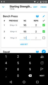Download Strong: Exercise Gym Log, 5x5 1.19 APK File for Android