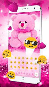 Download Lovely Teddy Bear Keyboard 10001003 APK File for Android