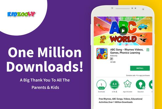 Download ABC Song - Rhymes Videos, Games, Phonics Learning 3.57 APK File for Android