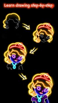 Download Draw Glow Princess 1.0.17 APK File for Android