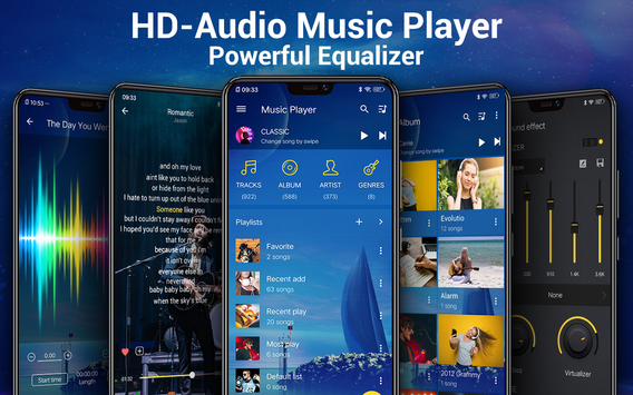 Download Music Player 3.2.2 APK File for Android