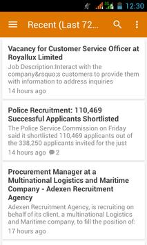 Download Nigerian Job Updates App 1.0 APK File for Android