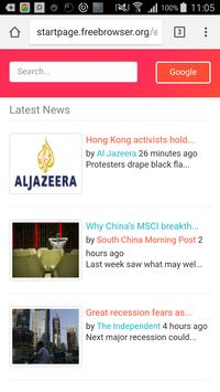 Download FreeBrowser 3.2.11 APK File for Android