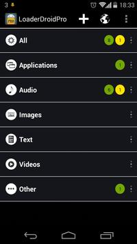 Download Loader Droid download manager 0.9.9.8 APK File for Android