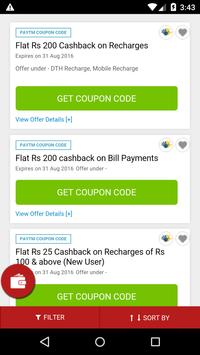 Download Coupons for Paytm 1.1 APK File for Android