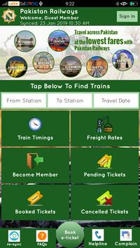 Download Pakistan Railways Official 3.5 APK File for Android