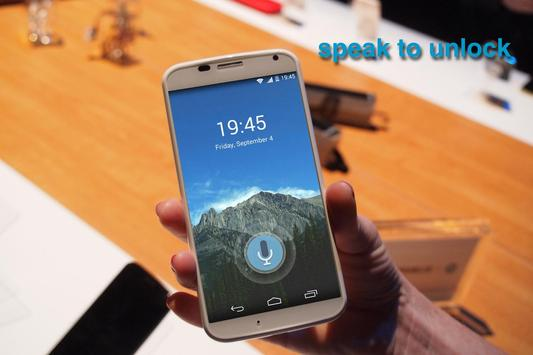 Download Voice Lock Screen 2.4.2 APK File for Android