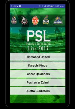 Download PSL Live 2017 1.1 APK File for Android
