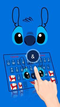 Download Blue Monster Keyboard Theme 4.5 APK File for Android