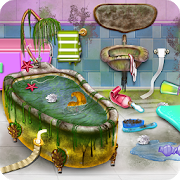 Pinky House Keeping Clean APK