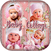 Baby Collage : Name, Card, Pics & Photo Frames APK
