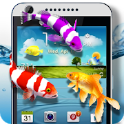 Fishes on Live Screen APK