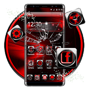 3d black red theme APK