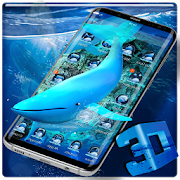 3D Blue Whale Simulator Theme APK