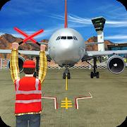 Airplane Pilot Parking Duty : Airplane Marshaling APK