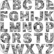 Alphabet Doodle Art Drawings APK