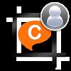 Profile w/o cropping to ChatON APK