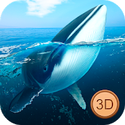 Big Blue Whale Underwater Survivor Simulator 3D APK