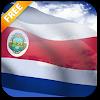 3D Costa Rica Flag LWP APK