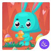 Easter-APUS Launcher theme APK