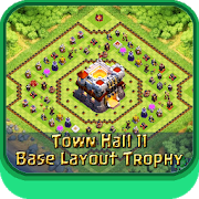 Town Hall 11 Base Layouts Trophy APK