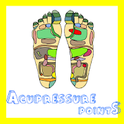 Acupressure points chart body APK