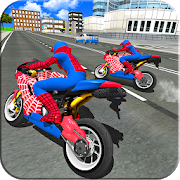 Bike Super Hero Stunt Driver Racing APK