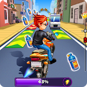 Moto Rush - Subway Endless Racing APK