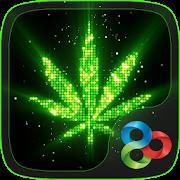 Neon Ganja GO Launcher Theme APK