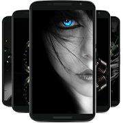 black wallpaper APK