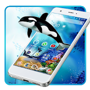 Blue Underwater Whale Theme 1.1.3 Android Latest Version Download