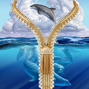 Blue Whale Zipper Lock APK