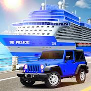 US Police Car Transport Cruise Ship Simulator 2018 APK
