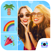 Beach Photo Editor-Beautiful stickers for photo APK