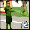 Green Ring Hero Crime Battle APK