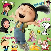 Emoji HD Talking Stickers APK