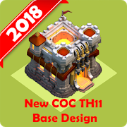 New Best COC Town Hall 11 Base Map APK