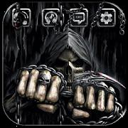 Skull Death Fist Theme APK