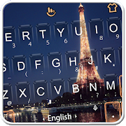 Live 3D Golden Eiffel Tower Keyboard Theme APK