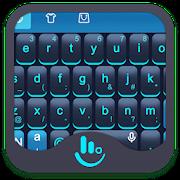Blue Science Keyboard Theme APK