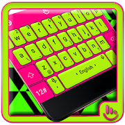 Fluorescent Flashy Neon Keyboard Theme APK