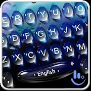 Live 3D Blue Water Keyboard Theme APK