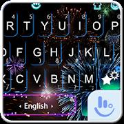 Live New Year Fireworks Keyboard Theme APK