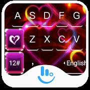 Red Heart Love Keyboard Theme APK