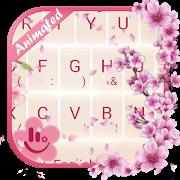 Live 3D Sakura Keyboard Theme APK